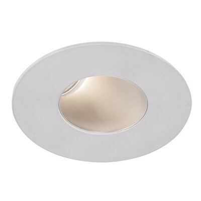Tesla 2 LED Recessed Trim Finish: White