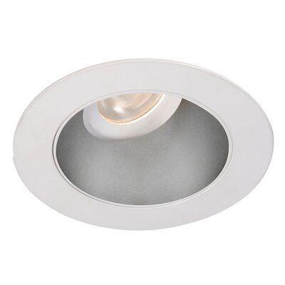 Tesla 3.5 LED Recessed Trim Finish: Haze/White