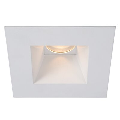 Tesla 3.5 LED Recessed Trim Finish: White
