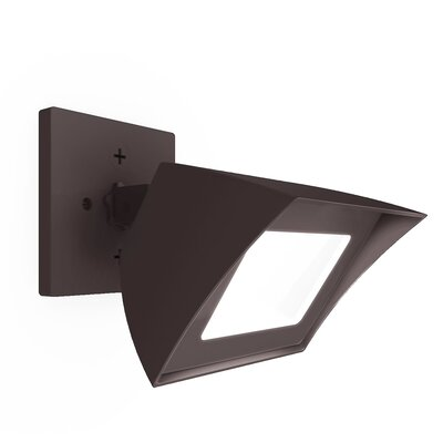 Endurance Flood Light Energy Star Outdoor/Indoor Wall Pack 35W 3000K e Finish: Architectural Bronze