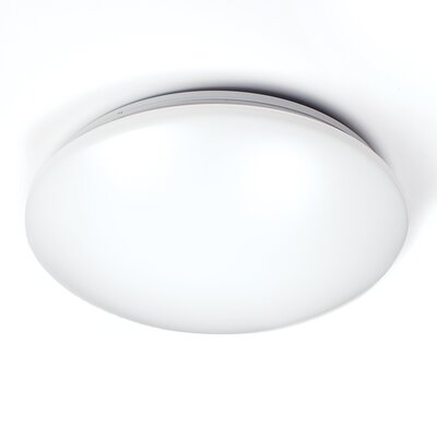 Glo 1-Light Flush Mount Size: 1 H x 14.25 W x 4 D