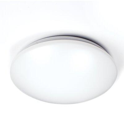 Glo 1-Light Flush Mount Size: 1 H x 16.5 W x 4.5 D