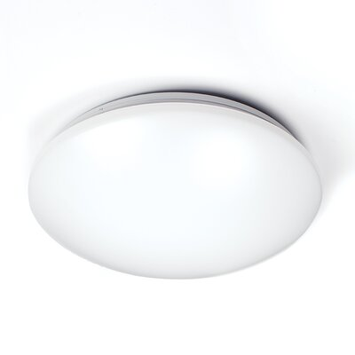 Candelaria LED White Ceiling/Wall Mount 3500K Size: 11