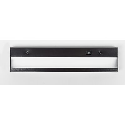 LED Under Cabinet Bar Light Finish: Brushed Aluminum, Size: 2.75 H x 12 W x 1 D