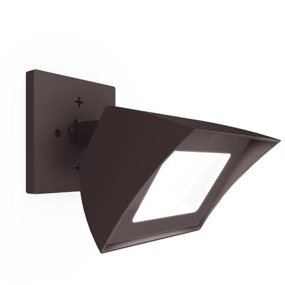 Endurance Flood Light Energy Star Outdoor/Indoor Wall Pack 35W 5000K Bronze Finish: Architectural Bronze