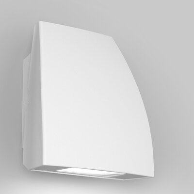 Endurance Fin Energy Star Outdoor/Indoor Wall Pack 35W 3000K e Finish: Architectural White