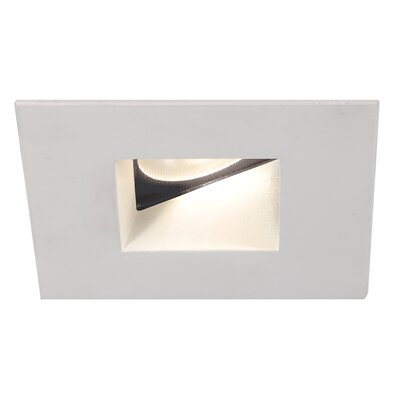 Tesla 2 Recessed Trim Finish: White