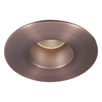 Tesla 2 Recessed Trim Finish: Copper Bronze