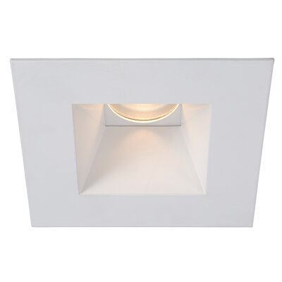 Tesla 3.5 Recessed Trim Finish: White