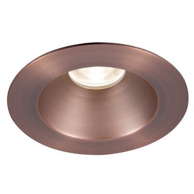 Tesla 3.5 Recessed Trim Finish: Copper Bronze
