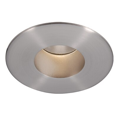 Tesla 2 LED Recessed Trim Finish: Brushed Nickel