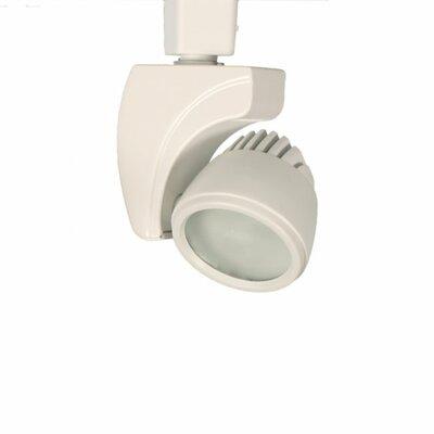 Reflex 3-Light 9W 3500K LED Track Head Finish: White, Track Collection: Halo Series
