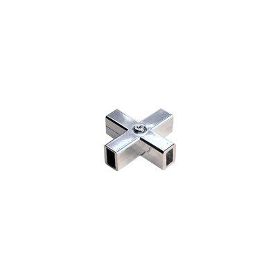 X Connector in Brushed Nickel