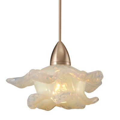 Mini Brittany Monopoint 1-Light Mini Pendant Finish: Dark Bronze