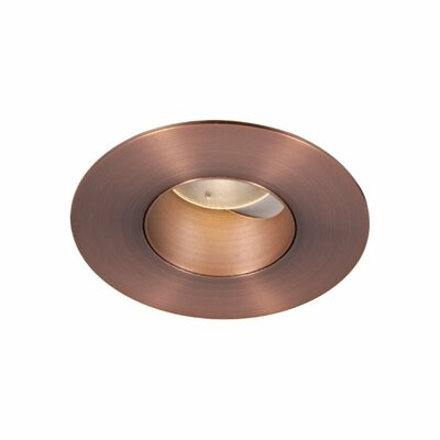 Tesla Adjustable 2700K 2 LED Recessed Trim Finish: Copper Bronze