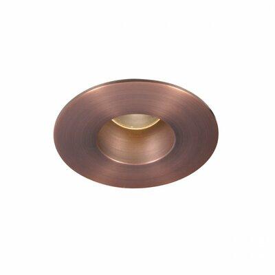 Downlight Adjustable Round 2 LED Recessed Trim Bulb: 4000K, Finish: Copper Bronze