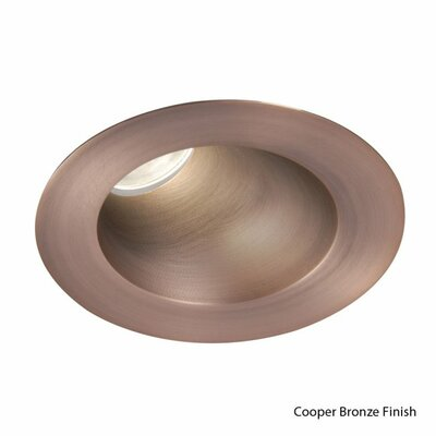 Downlight Adjustable Round 3.5 LED Recessed Trim Finish: Copper Bronze, Bulb: 3000K