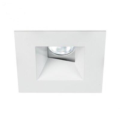 Tesla Wallwasher Square 2.9 LED Recessed Trim Finish: White