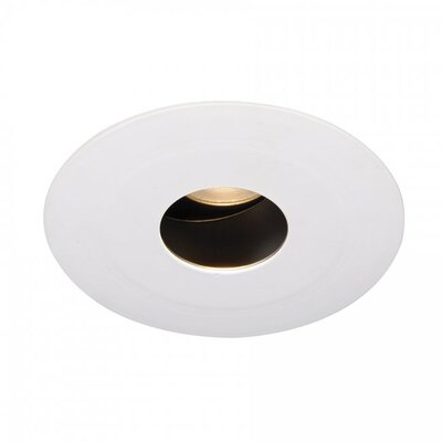 Tesla Pinhole Round 1.9 LED Recessed Trim Finish: White