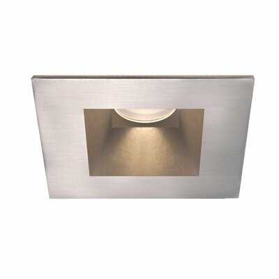 Tesla Square Shower 28 Degree Angle 2.88 Recessed Trim Finish: Brushed Nickel