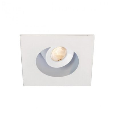 LEDme Mini Recessed Downlights Bulb Color: Warm White, Finish: White