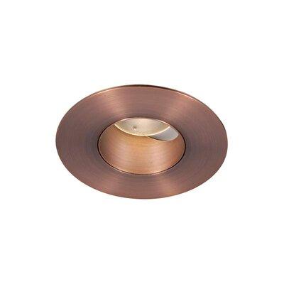 Tesla 2 LED Recessed Trim Finish: Copper Bronze