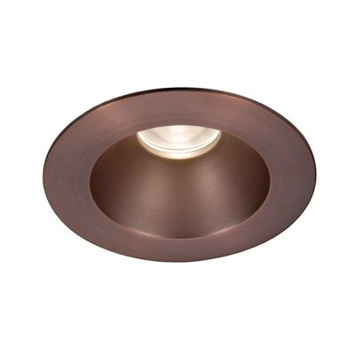 Tesla 3.5 Recessed Trim Finish: Copper Bronze