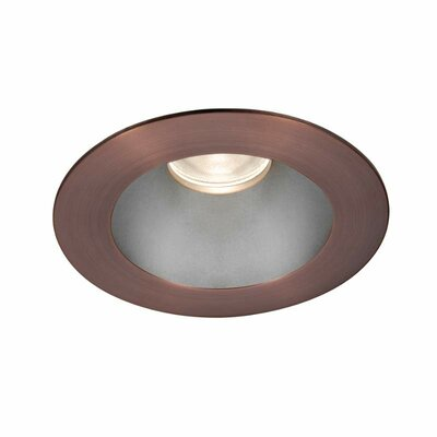 Tesla Pro High Output 3.5 Recessed Trim Finish: Haze/Copper Bronze