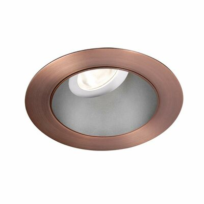 Tesla 3.5 Recessed Trim Finish: Haze/Copper Bronze