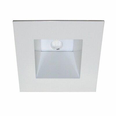 LEDme Square 2.5 LED Recessed Trim Finish: White / White