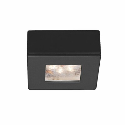LEDme Button LED Recessed Individual Spotlight Finish: Black