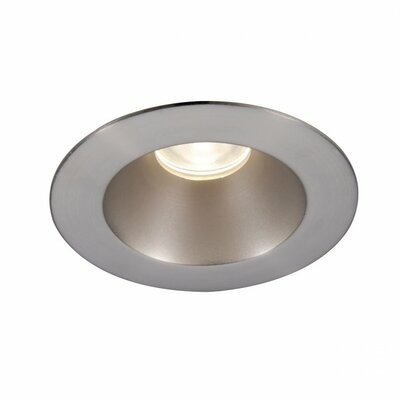 Tesla Pro High Output 3.5 Recessed Trim Finish: Brushed Nickel