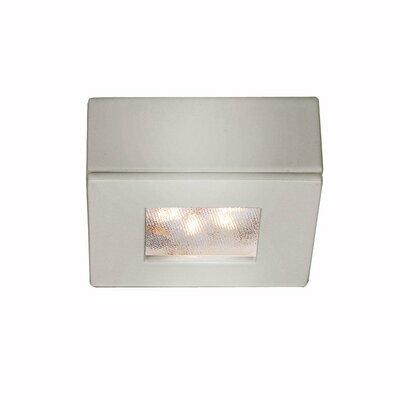 LEDme Button LED Recessed Individual Spotlight Finish: Brushed Nickel