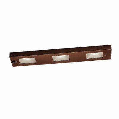 17.875 Xenon Under Cabinet Bar Light Finish: Bronze