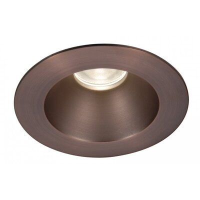 Tesla 3500K Open Round 3.5 LED Recessed Trim Finish: Copper Bronze