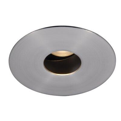 Tesla Pinhole Round 1.9 LED Recessed Trim Finish: Brushed Nickel