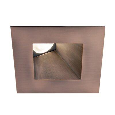 Tesla Wallwasher Square 2.9 LED Recessed Trim Finish: Copper Bronze