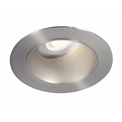 Tesla Adjustable Round 3.5 LED Recessed Trim Finish: Semi-Specular Clear/White