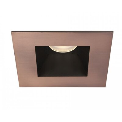 Tesla Open Square 2.9 LED Recessed Trim Finish: Copper Bronze