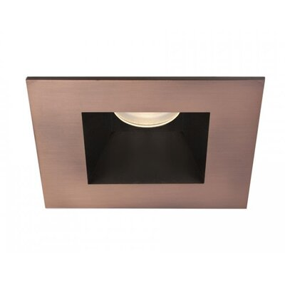 Tesla 50 Degree Angle 3500K 2.88 LED Recessed Trim Finish: Copper Bronze