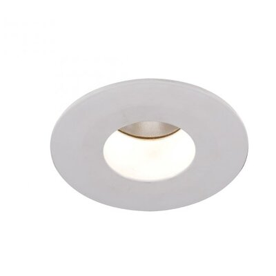 Downlight Open Round 2 LED Recessed Trim Finish: White, Bulb: 3000K