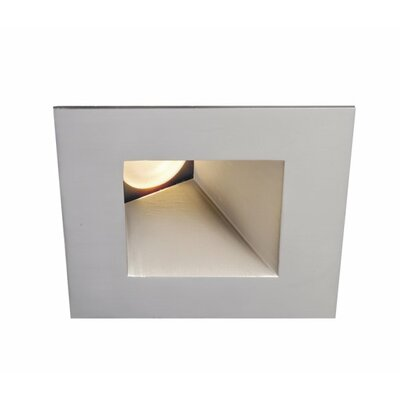 Tesla Square Adjustable 4000K 2.88 LED Recessed Trim Finish: Brushed Nickel