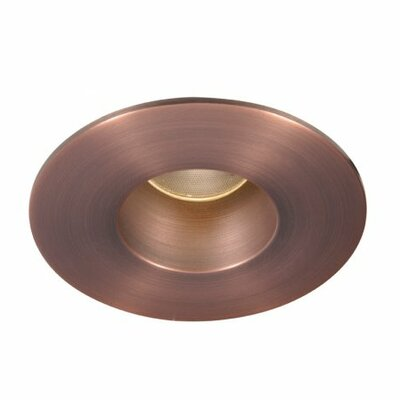 Downlight Open Round 2 LED Recessed Trim Finish: Copper Bronze, Bulb: 3000K
