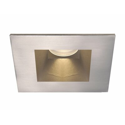 Tesla Open Square 28 Degree Angle 3 Recessed Trim Finish: Brushed Nickel