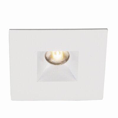 LEDme Mini Recessed Downlights Finish: White, Bulb Color: Warm White