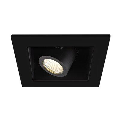 Precision 4 LED Recessed Trim Finish: Black