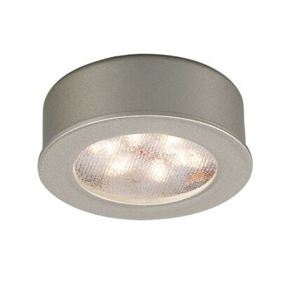 LEDme Button Recessed Trim Finish: Brushed Nickel