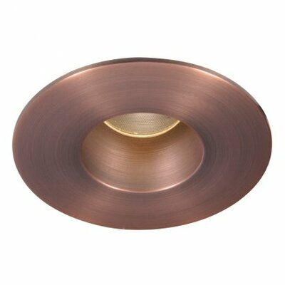 Tesla Open Round 15 Degree Beam Angle 2 LED Recessed Trim Finish: Copper Bronze