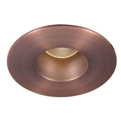 Tesla Open Square 2 LED Recessed Trim Finish: Copper Bronze