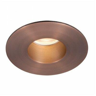 Tesla Round 2 LED Recessed Trim Finish: Copper Bronze